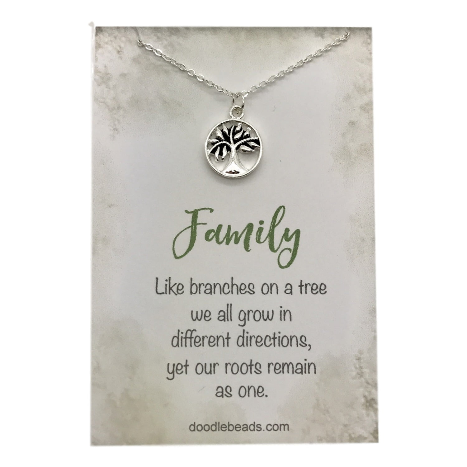 hand justjaynes jewelry family initial necklace sterling silver necklaces tree stamped