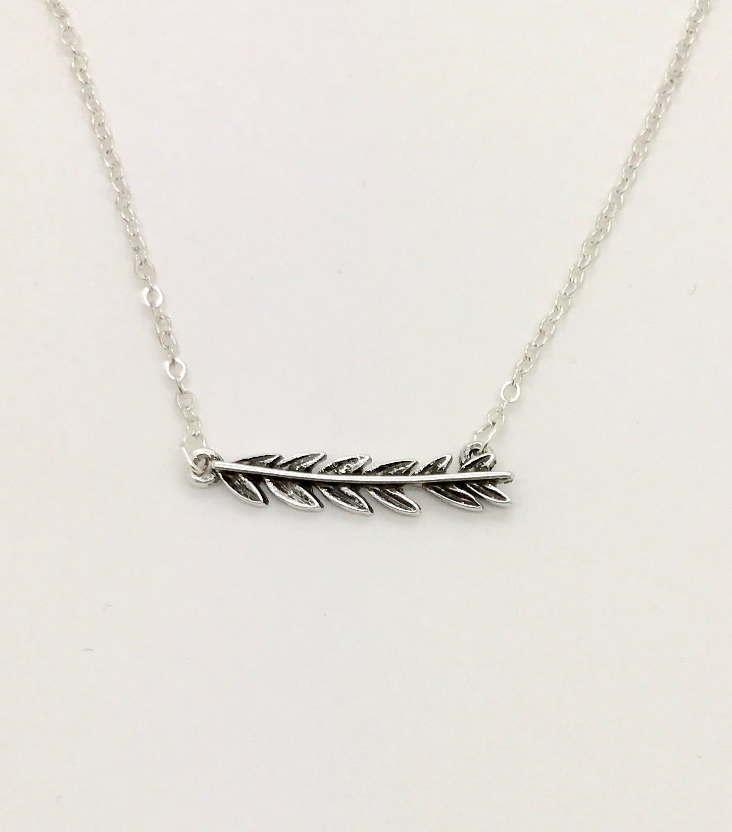 necklace diamonds in sterling with jewelry silver olive branch
