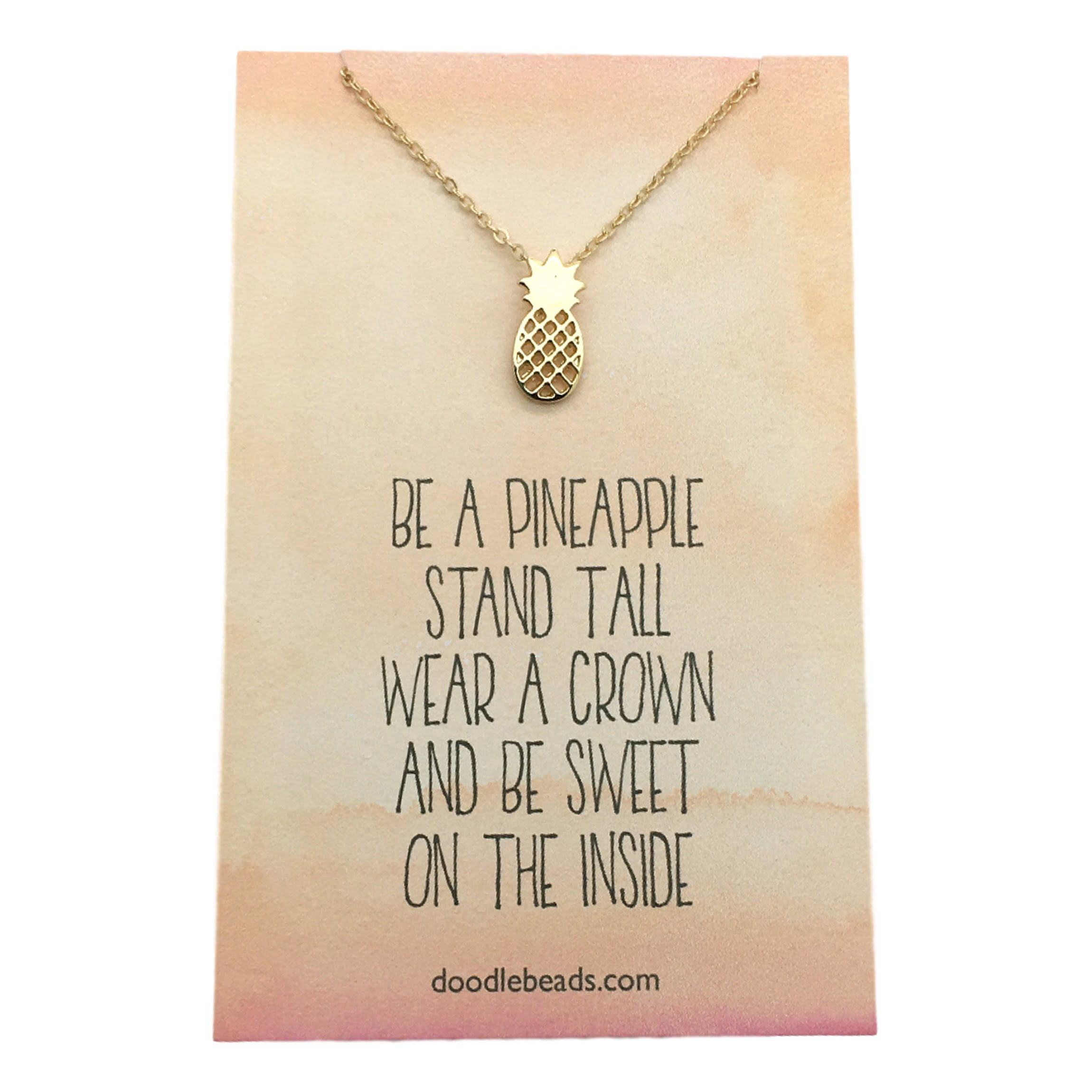 products thread pineapple inc necklace golden