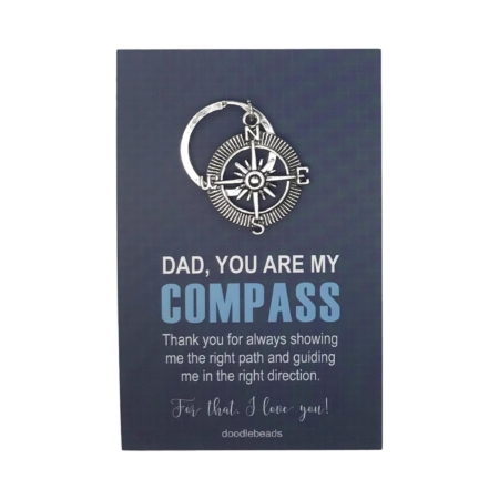 Gift for Dad Father-Guardian Fathers Day Gift Love You Dad Key Ring