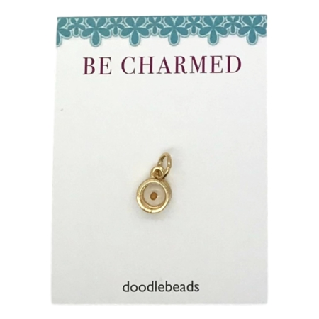 Mustard Seed Charm Gold