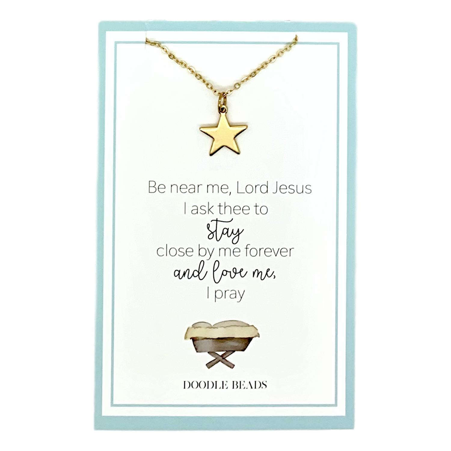 Little Star Christmas Necklace